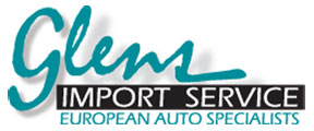 Glen's Import Service Mobile Logo